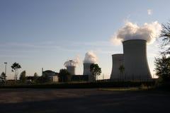 Centrale atomica immagini stock libere da diritti