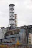Centrale atomica di Cernobyl, reattore 4 Fotografia Stock Libera da Diritti