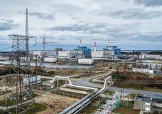 Centrale atomica di Khmelnitsky. Fotografie Stock Libere da Diritti