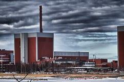 Centrale atomica di Olkiluoto Fotografia Stock