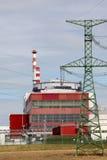 Centrale atomica Temelin, repubblica Ceca Fotografia Stock Libera da Diritti