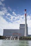 Centrale atomica unica Immagini Stock