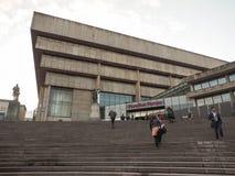 Centrale Bibliotheek in Birmingham stock foto