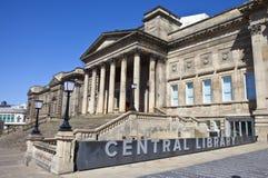 Centrale Bibliotheek in Liverpool royalty-vrije stock fotografie