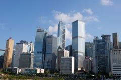 Centrale commerciale Hong Kong delle costruzioni immagini stock