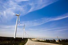 Centrale d'énergie éolienne Image libre de droits