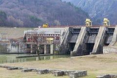 Centrale d'énergie hydroélectrique photographie stock libre de droits
