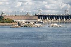 centrale d'hydro-électricité photo stock