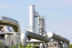 Centrale d'industrie chimique image libre de droits