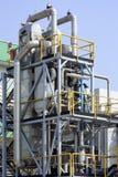 Centrale d'industrie chimique image stock