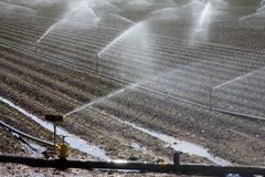 Centrale d'irrigation image libre de droits
