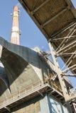 Centrale de centrale à charbon - Pologne images libres de droits