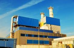 Centrale de biodiesel Photographie stock libre de droits