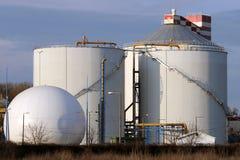 Centrale de biogaz Image libre de droits