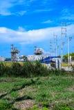 Centrale de biomasse Photographie stock libre de droits