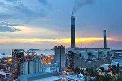 Centrale de centrale à charbon Image stock
