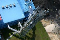Centrale de charbon Photo libre de droits