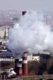 Centrale de charbon image stock