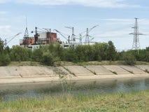 Centrale de Chernobyl photos stock