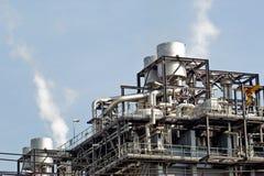 Centrale de cycle combiné de gaz naturel Images stock