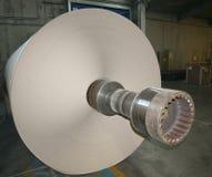 Centrale de fabrique de pâte à papier de papier et - Rolls de carton Photos libres de droits