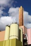 centrale de Gaspiller-à-énergie image libre de droits