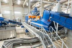 centrale de Gaspiller-à-énergie Images stock