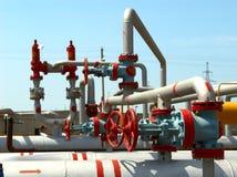 Centrale de gaz de pouvoir photographie stock libre de droits