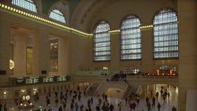 Centrale de Postvensters van NYC stock video