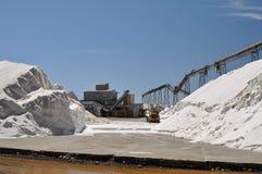 Centrale de production de sel photos libres de droits