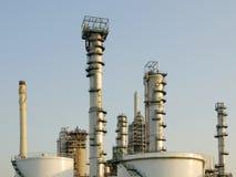 Centrale de raffinerie Images stock