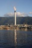 Centrale de raffinerie industrielle Images libres de droits