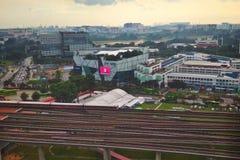 Centrale de stad van het Jurongoosten royalty-vrije stock foto