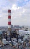 Centrale de turbine à gaz Photographie stock