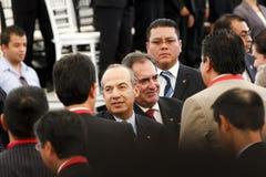 Centrale de véhicule neuve de Nissans au Mexique images libres de droits