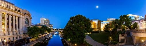 Centrale del centro, Ottawa, Ontario, Canada fotografia stock