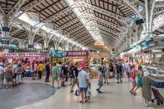 Centrale di Mercado a Valencia Fotografia Stock Libera da Diritti