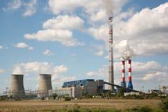 Centrale elettrica Fotografie Stock