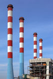 Centrale elettrica Immagini Stock