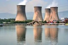 Centrale elettrica Immagine Stock