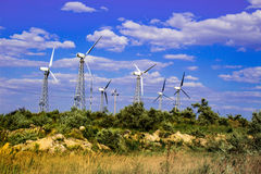 Centrale elettrica Immagine Stock Libera da Diritti
