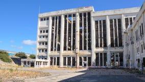 Centrale elettrica abbandonata di Fremantle Immagine Stock