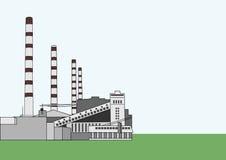 Centrale elettrica baltica Fotografie Stock Libere da Diritti