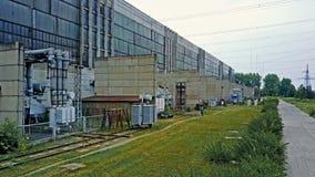 Centrale elettrica combinata video d archivio
