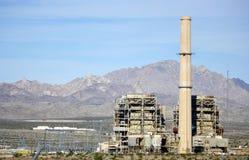 Centrale elettrica in costruzione Immagini Stock