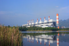 Centrale elettrica del carbone Immagini Stock