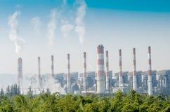 Centrale elettrica del carbone di Mae Moh Fotografia Stock Libera da Diritti