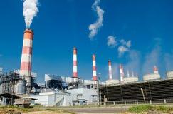 Centrale elettrica del carbone di Mae Moh Fotografia Stock