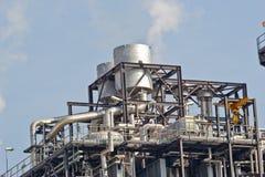 Centrale elettrica del ciclo combinato del gas naturale Immagini Stock Libere da Diritti