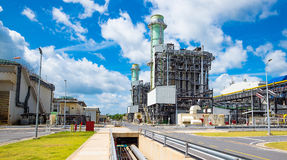 Centrale elettrica del ciclo del Combine Fotografia Stock